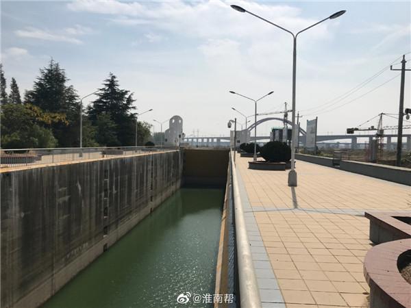 图说淮南——引江济淮工程寿县段